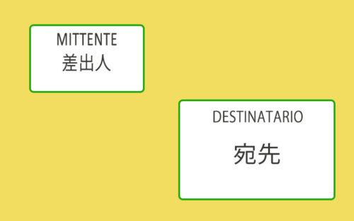 イタリア⇔日本】海外の住所の書き方と注意点 | イタリアに住んだネギ